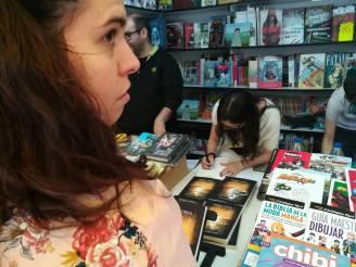 """Firma de """"Ocaso"""" en la Feria del Libro de Madrid (09-06-18)"""