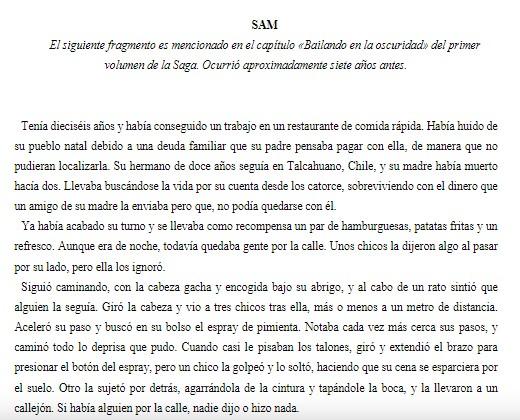 LQNSC. Sam