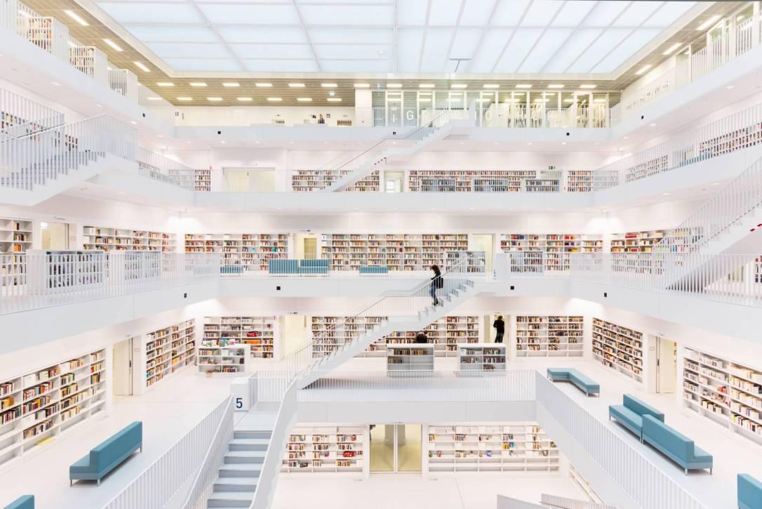Biblioteca Pública de Stuttgart (Alemania) GETTY IMAGES